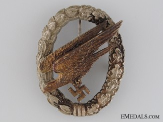 A Paratrooper Badge by JMME & SOHN