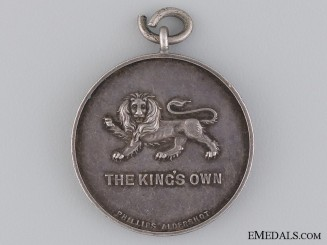The King's Own Royal Lancaster Regiment Award Medal