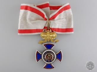 The Order of Danilo; Commander's Cross by Vinc Mayer