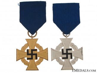 Two Faithful Service Crosses