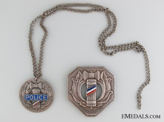 WWII Vichy National Police Collection