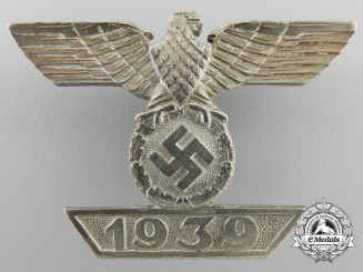 A Clasp to the Iron Cross First Class 1939 by W. Deumer