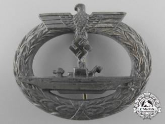 A Late War Kriegsmarine Submarine Badge