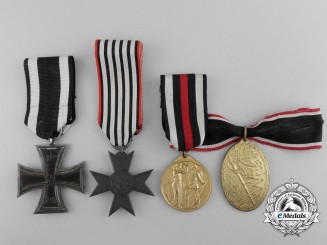 Four First War Prussian Medals and Awards