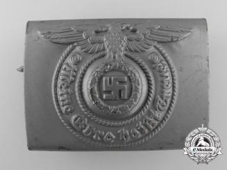 "Germany. An SS EM/NCO's Belt Buckle by ""RZM 155/43 SS"" (Assmann)"