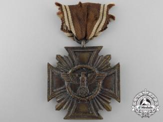 An NSDAP Long Service Award; Ten Year Service