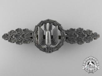 A Luftwaffe Bomber Flight Clasp; Silver Grade
