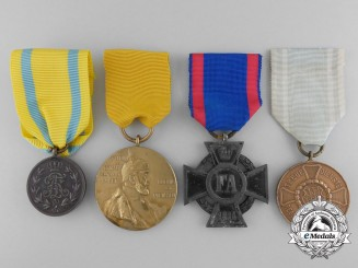 Four First War German Imperial Medals and Awards