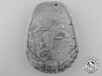 Hungary, Kingdom. An Anti-Tank Badge; Numbered, c.1940