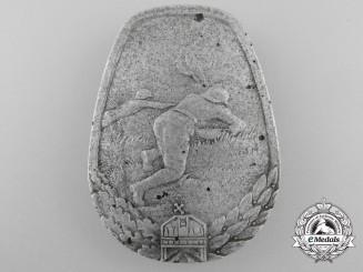 Hungary, Kingdom. An Anti-Tank Badge; Numbered, c.1940