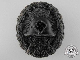 A Legion Condor Wound Badge; Black Grade