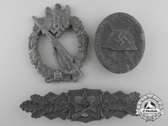 Three Second War German Badges