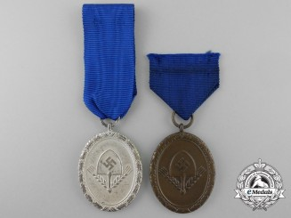 Two RAD Long Service Awards; Third & Fourth Class