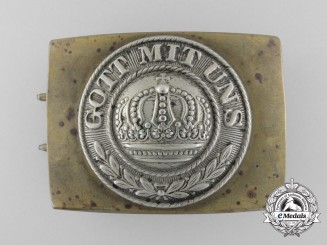 A First War Prussian Army (Heer) Belt Buckle