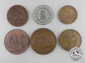 Six German Imperial & Weimar Republic Table Medals