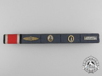 An Outstanding 1957 Issue Kriegsmarine Ribbon Bar