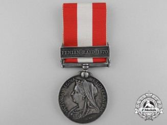 Canada, Dominion. A General Service Medal to the 55th Battalion