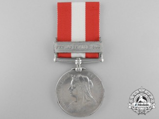 A Canada General Service Medal to the Woodstock Rifle Co