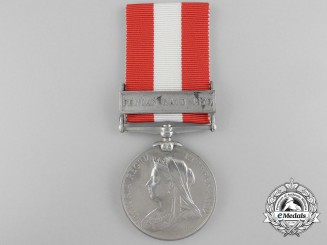A Canada General Service Medal to the Provincial Battalion