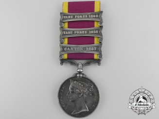 A Second China War Medal 1857-1860