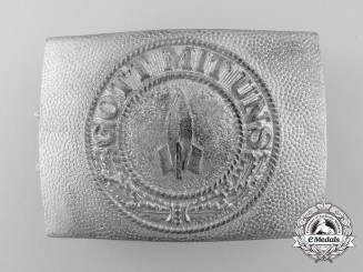 A Rare V-2 Rocket Personnel Belt Buckle