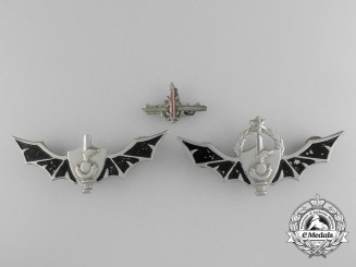Three Israeli Badges