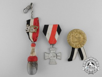 Three Weimar Republic Veterans Items