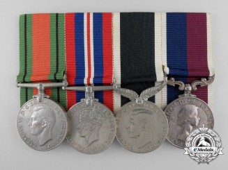 A Second War Medal Bar to the Royal New Zealand Air Force