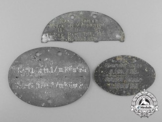 Three German ID Tags
