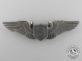 A Second War USAAF Service Pilot's Wing by  Angus & Coote