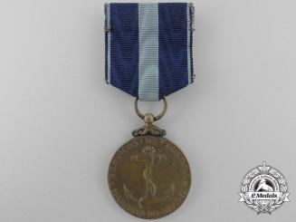 A Brazilian Navy Service Medal