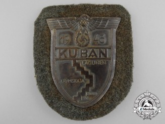 An Army Issued Kuban Campaign Shield