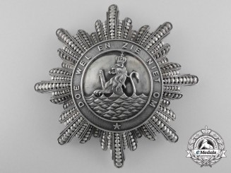 Netherlands, Kingdom. An Order of the Union, Grand Cross Star, c.1885