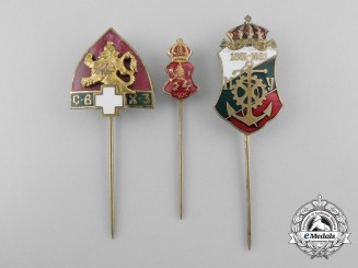 Three Bulgarian Stickpins