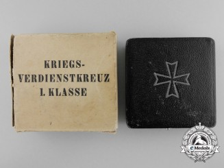A War Merit 1st Class Case in Box of Issue by Steinhauer & Lück, Lüdenscheid