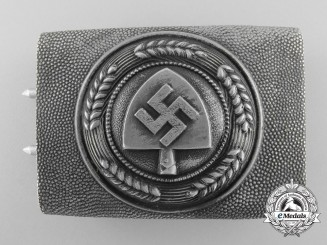 An RAD (Reichsarbeitsdienst) Enlisted Man's Belt Buckle by Overhoff & Cie