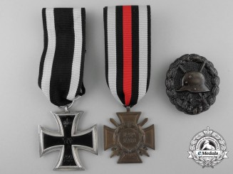 Three First War German Medals & Awards