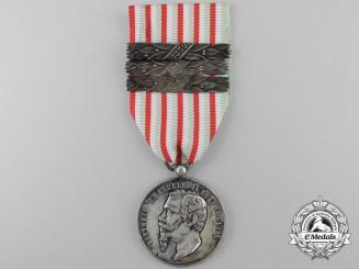 An Italian Independence Medal; 1848-49 Austrian War & 1859 Crimean War