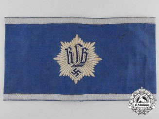 A First Pattern Air Raid Protection League  Leader's Armband