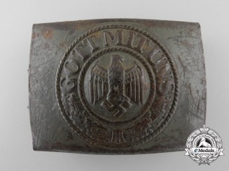 A 1941 Army (Heer) Enlisted Man's Belt Buckle