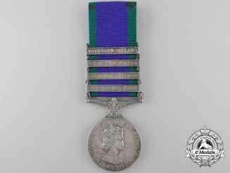 A General Service Medal 1962-2007 to the Argyll and Sutherland Highlanders