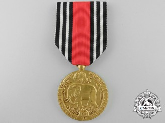 An Order of Merit of Upper Volta; Gold Grade Medal