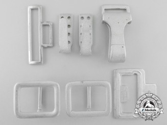 Seven SS Belt and Buckle Components
