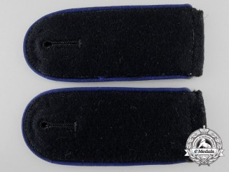 A Set of Waffen-SS Enlisted Medical Shoulder Straps
