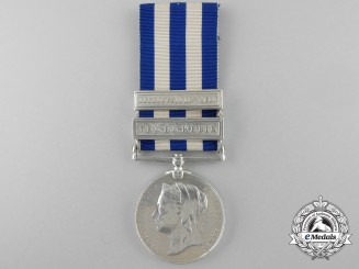 An 1882-89 Eygpt Medal to HMS Monarch