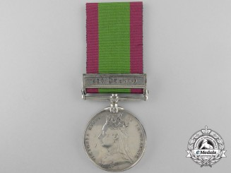 An 1878-80 Afghanistan Medal to J. Lawler; Rifle Brigade