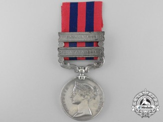 An 1854-95 India General Service Medal