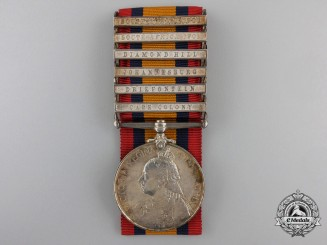 A Queen's South Africa Medal to the 83rd Battery, Royal Field Artillery