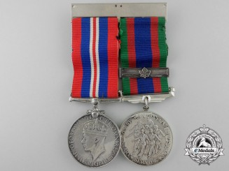 A Pair of Second War Canadian Medals