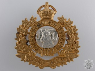 A 102nd Rocky Mountain Rangers Cap Badge c.1910